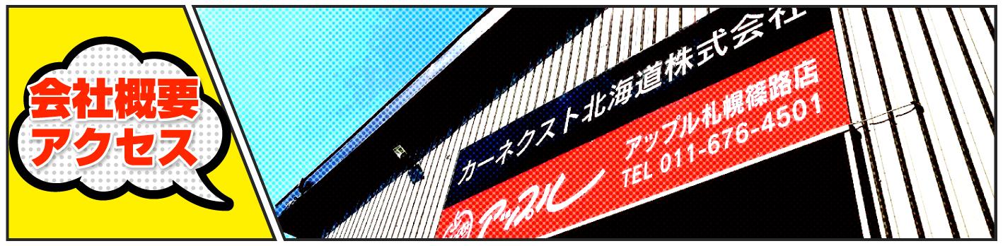 <p>平成18年12月創業のカーネクスト北海道</p>